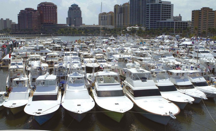 Boat Show Sails Into Downtown West Palm