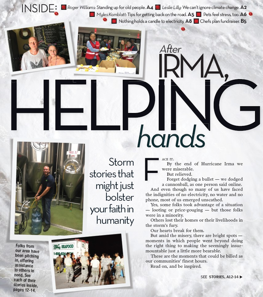 After IRMA, HELPING hands | Palm Beach Florida Weekly