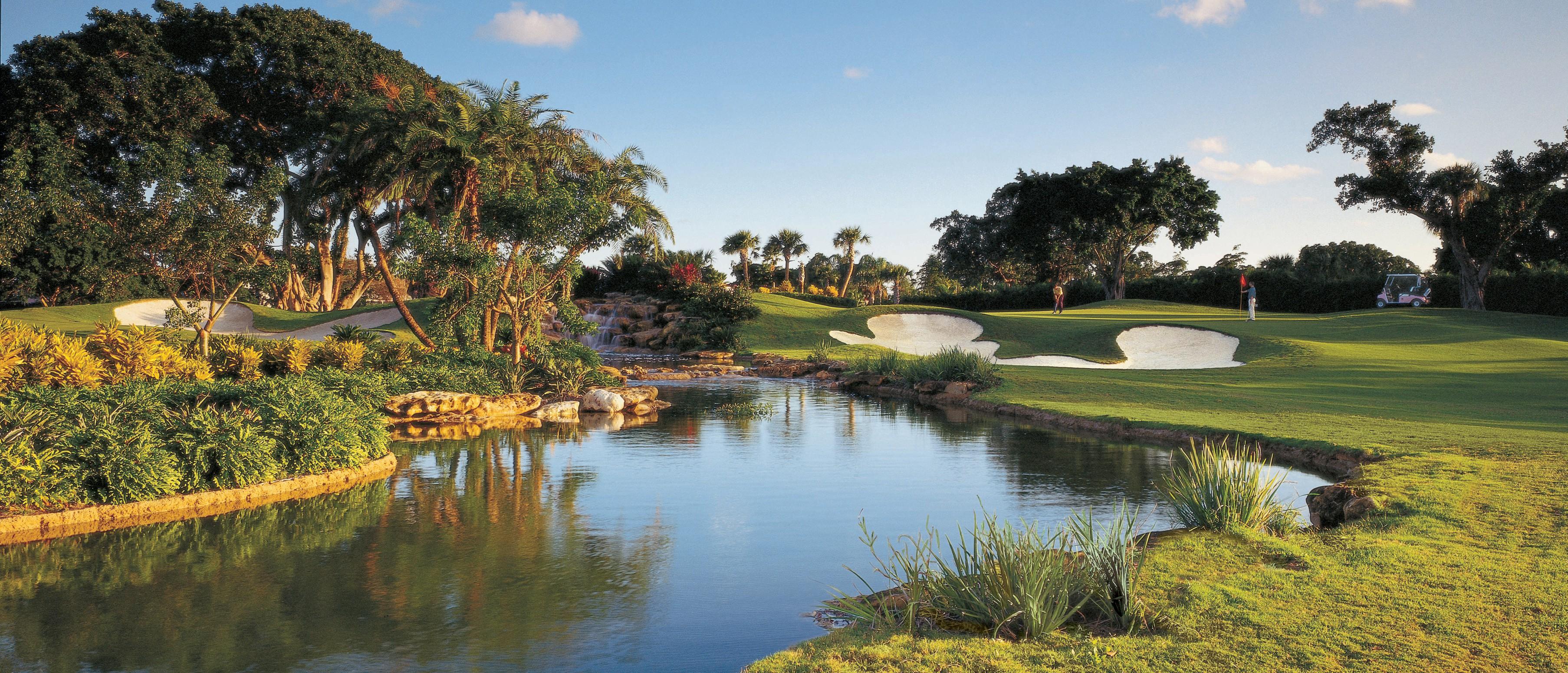 The Boca Raton Resort U0026 Club Has Two 18 Hole, Par 72 Golf Courses