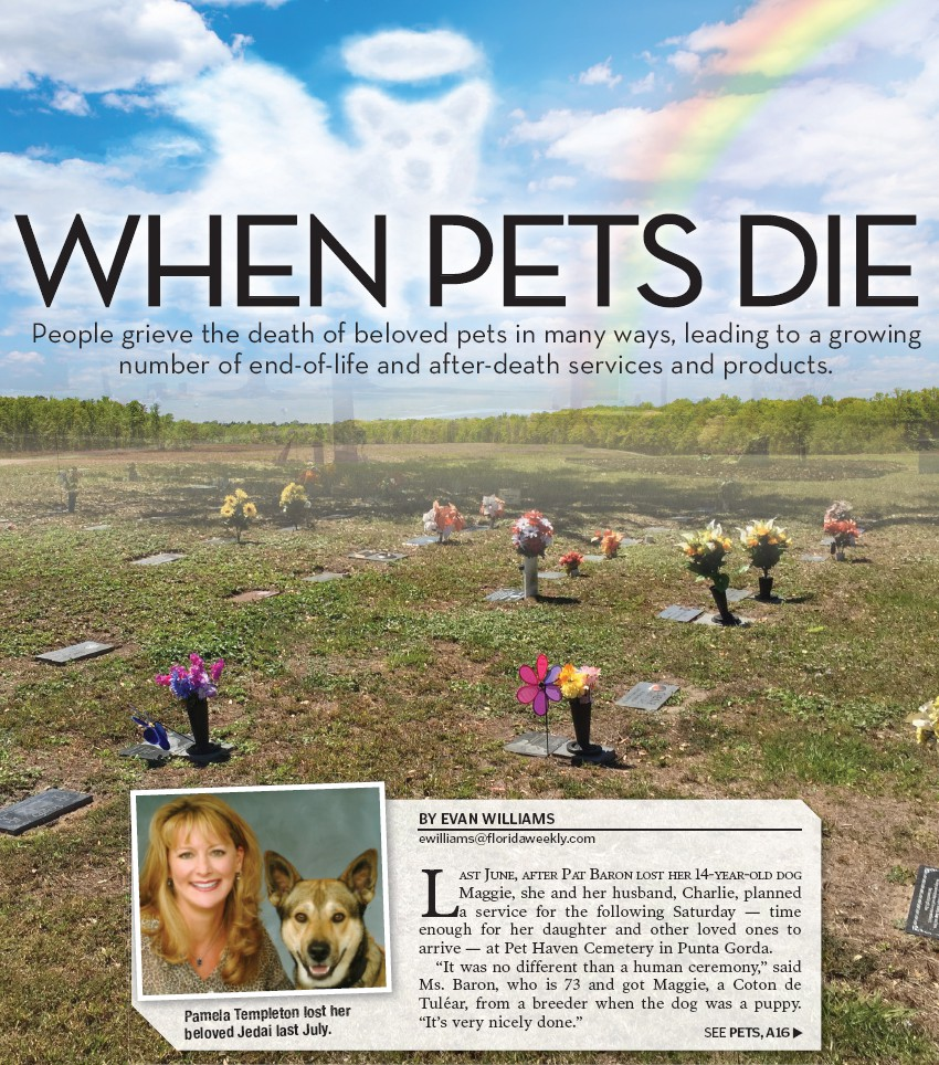 WHEN PETS DIE | Palm Beach Florida Weekly