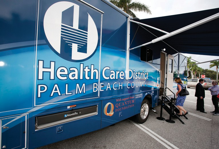 Health Care District opens mobile clinic | Palm Beach