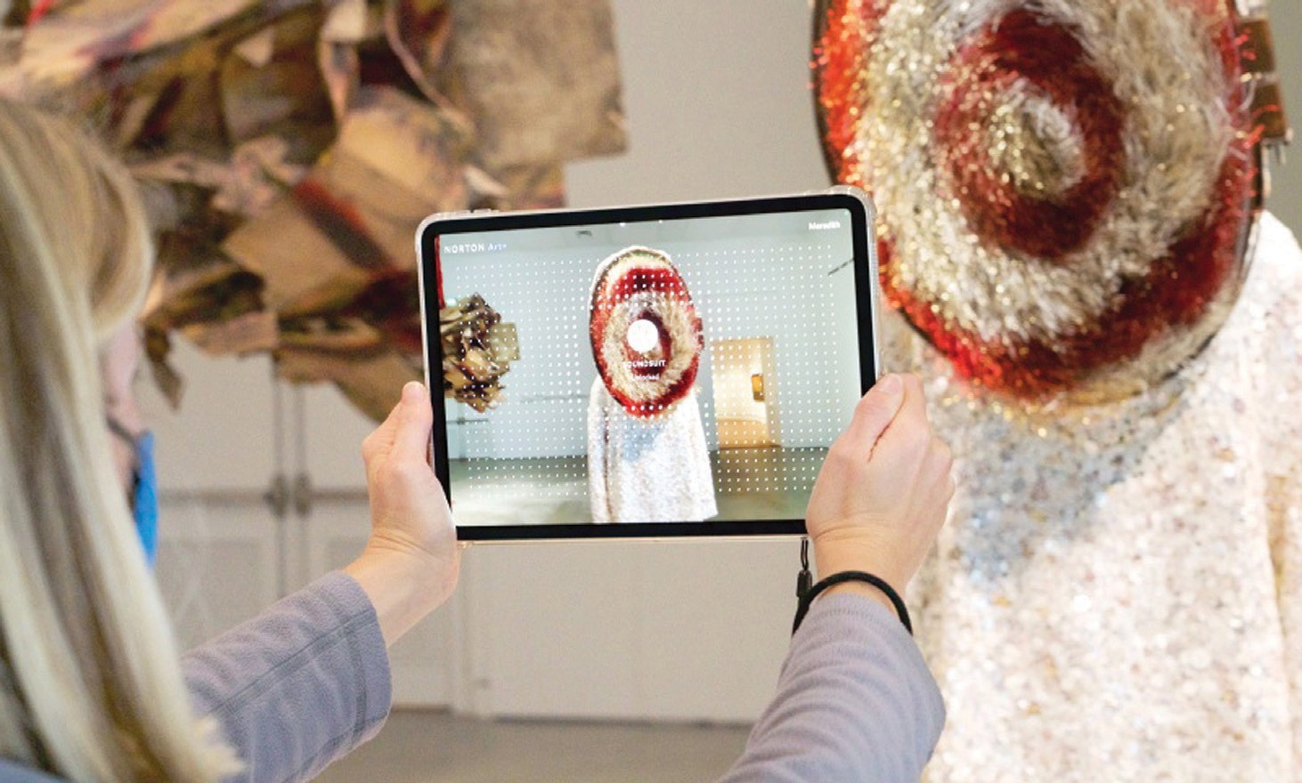 Norton Museum launches augmented reality app   Palm Beach Florida Weekly