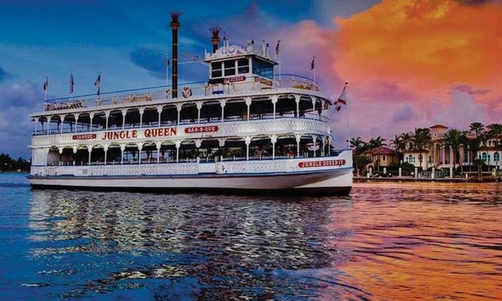 La Jungle Queen sillonne les eaux autour de Fort Lauderdale depuis 1935. PHOTOS DE COURTOISIE
